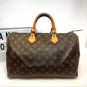 Louis Vuitton Speedy 35 Monogram Large Satchel bag